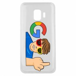 Чохол для Samsung J2 Core Google guy Fuck You