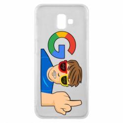 Чохол для Samsung J6 Plus 2018 Google guy Fuck You