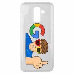 Чохол для Samsung J8 2018 Google guy Fuck You