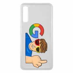 Чохол для Samsung A7 2018 Google guy Fuck You