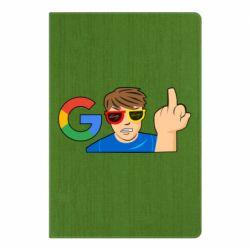 Блокнот А5 Google guy Fuck You