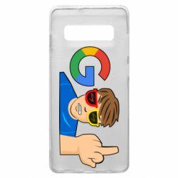 Чохол для Samsung S10+ Google guy Fuck You