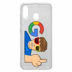 Чохол для Samsung A20 Google guy Fuck You