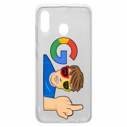 Чохол для Samsung A30 Google guy Fuck You