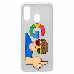 Чохол для Samsung A40 Google guy Fuck You
