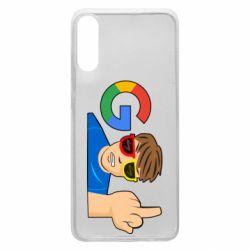 Чохол для Samsung A70 Google guy Fuck You