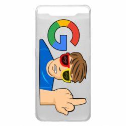 Чохол для Samsung A80 Google guy Fuck You