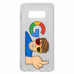 Чохол для Samsung S10e Google guy Fuck You