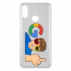 Чохол для Samsung A10s Google guy Fuck You