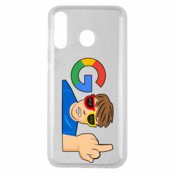 Чохол для Samsung M30 Google guy Fuck You