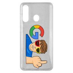 Чохол для Samsung M40 Google guy Fuck You