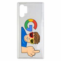 Чохол для Samsung Note 10 Plus Google guy Fuck You