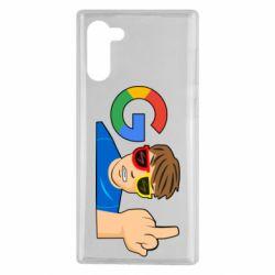 Чохол для Samsung Note 10 Google guy Fuck You