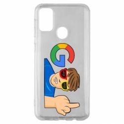 Чохол для Samsung M30s Google guy Fuck You