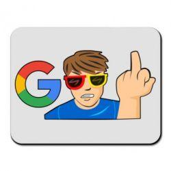 Купить Коврик для мыши Google guy Fuck You, FatLine