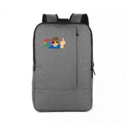 Рюкзак для ноутбука Google guy Fuck You