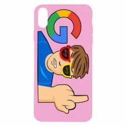 Чохол для iPhone X/Xs Google guy Fuck You