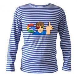 Тільник з довгим рукавом Google guy Fuck You
