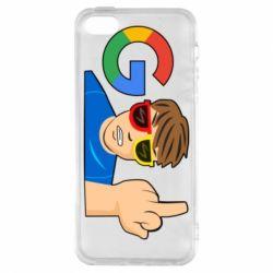 Чохол для iphone 5/5S/SE Google guy Fuck You