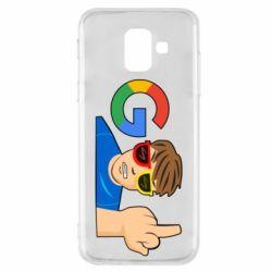 Чохол для Samsung A6 2018 Google guy Fuck You
