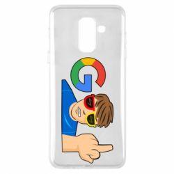 Чохол для Samsung A6+ 2018 Google guy Fuck You