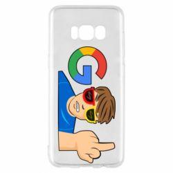 Чохол для Samsung S8 Google guy Fuck You