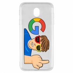 Чохол для Samsung J7 2017 Google guy Fuck You