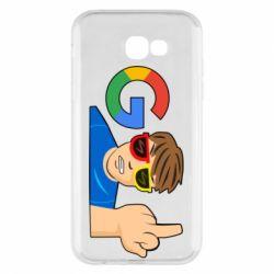 Чохол для Samsung A7 2017 Google guy Fuck You