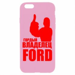 Чохол для iPhone 6 Plus/6S Plus Гордий власник FORD