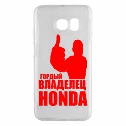 Чохол для Samsung S6 EDGE Гордий власник HONDA