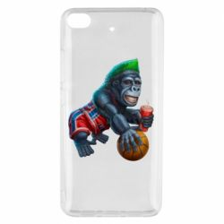 Чехол для Xiaomi Mi 5s Gorilla and basketball ball