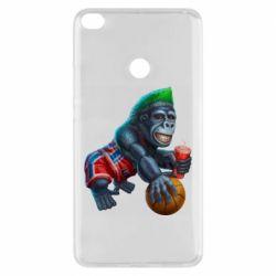 Чехол для Xiaomi Mi Max 2 Gorilla and basketball ball
