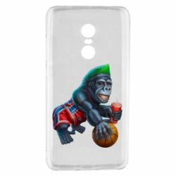 Чехол для Xiaomi Redmi Note 4 Gorilla and basketball ball
