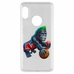 Чехол для Xiaomi Redmi Note 5 Gorilla and basketball ball