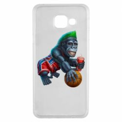 Чехол для Samsung A3 2016 Gorilla and basketball ball