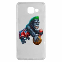 Чохол для Samsung A5 2016 Gorilla and basketball ball