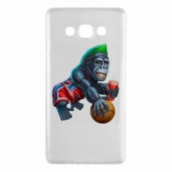 Чохол для Samsung A7 2015 Gorilla and basketball ball