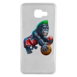Чохол для Samsung A7 2016 Gorilla and basketball ball