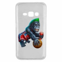 Чохол для Samsung J1 2016 Gorilla and basketball ball