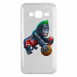 Чохол для Samsung J3 2016 Gorilla and basketball ball