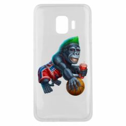 Чохол для Samsung J2 Core Gorilla and basketball ball