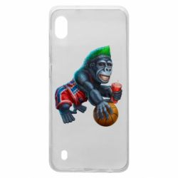 Чохол для Samsung A10 Gorilla and basketball ball