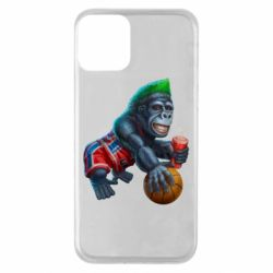 Чохол для iPhone 11 Gorilla and basketball ball