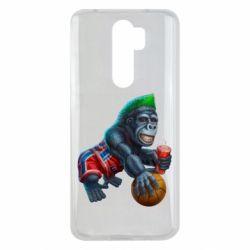 Чехол для Xiaomi Redmi Note 8 Pro Gorilla and basketball ball