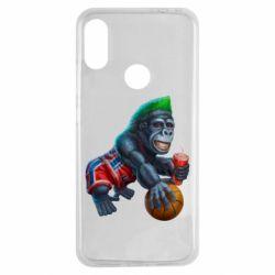 Чехол для Xiaomi Redmi Note 7 Gorilla and basketball ball