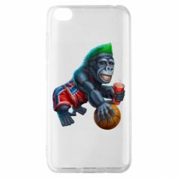 Чехол для Xiaomi Redmi Go Gorilla and basketball ball