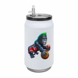 Термобанка 350ml Gorilla and basketball ball