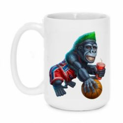Кружка 420ml Gorilla and basketball ball