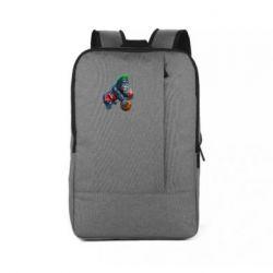 Рюкзак для ноутбука Gorilla and basketball ball