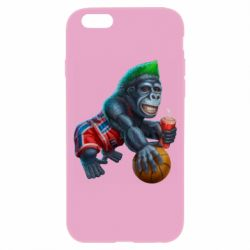 Чохол для iPhone 6/6S Gorilla and basketball ball